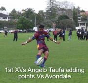 1st Xvs Angelo Taufa Adding Points Vs Avondale