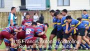U15 Francis Antonio Controling Scrum Time Vs Otuhuhu